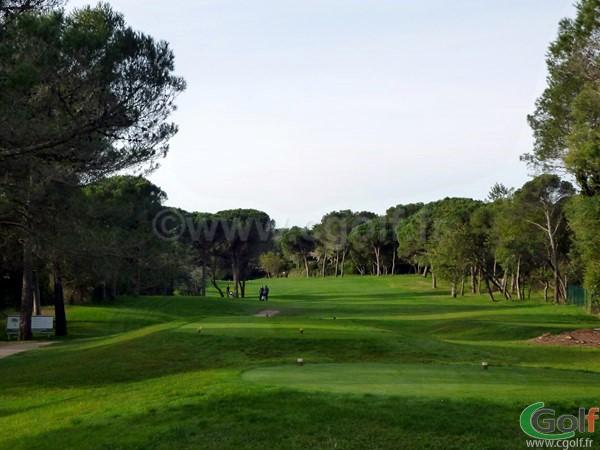 Départ n°1 du golf Estérel Blue Green dans le var en région PACA à Saint Raphael
