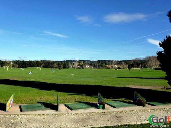 Le practice du Garden golf Avignon dans le Vaucluse à Morières les Avignon en PACA