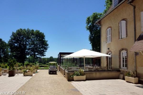 Restaurant du golf du Mionnay proche de Lyon dans la Dombes en Rhône Alpes dans l'Ain
