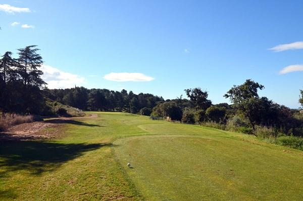 Par 3 n°8 du golf de Cap d'Agde Languedoc Roussillon Hérault