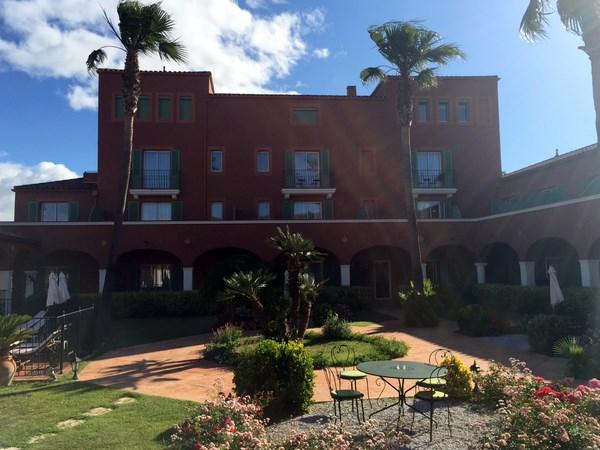 Hotel du golf international du Cap d'Agde dans le Languedoc Roussillon dans l'Hérault