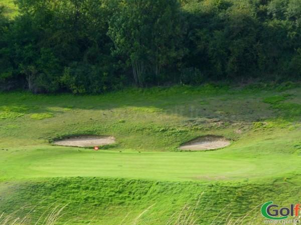Green n°10 du golf d'Abbeville en Picardie dans la Somme à Grand-Laviers