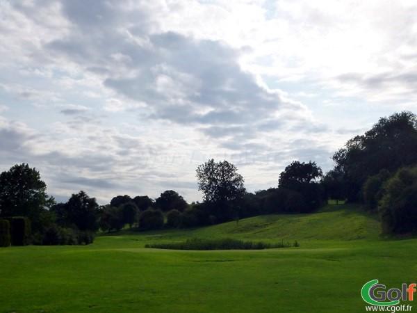 Green n°13 du golf d'Abbeville sur la commune de Grand-Laviers en Picardie dans la Somme