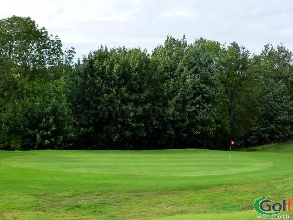 Green n°15 du golf d'Abbeville dans la Somme en Picardie à Grand-Laviers