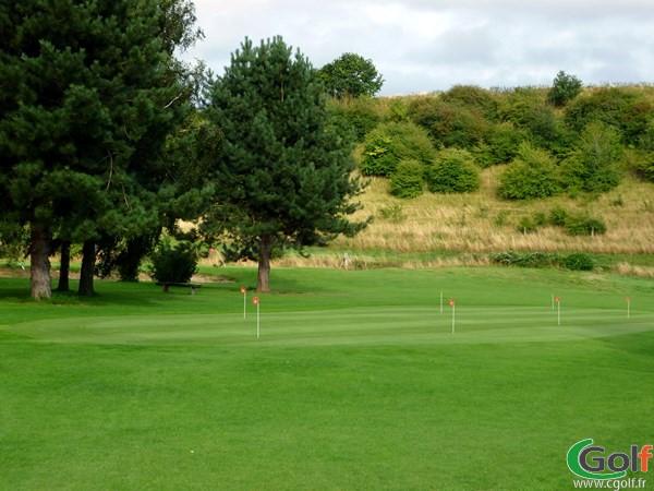 putting green du golf de Grand-Laviers Abbeville dans la Somme en Picardie proche d'Amiens