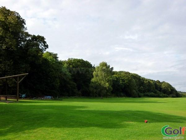practice du golf d'Abbeville dans la Somme à Grand-Laviers en Picardie proche du Crotoy