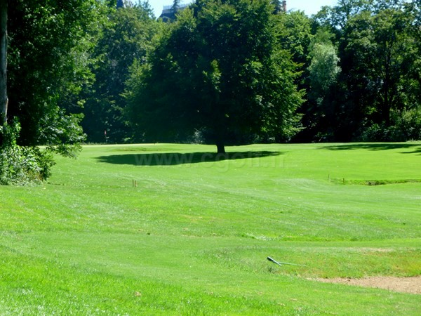 Green n°10 du golf d'Alban Senaud en Rhône Alpes dans la Drôme proche de Lyon