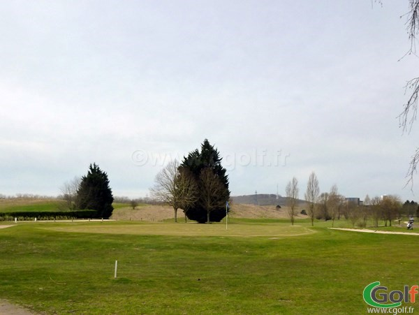 Green n°18 du golf de la base loisir de Saint Quentin en Yvelines proche de Paris et Versailles