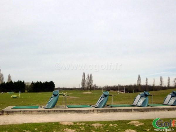 Le practice du golf de la base loisirs de Saint Quentin en Yvelines proche de Paris