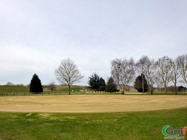 Putting green du golf de la base loisirs de Saint Quentin en Yvelines proche de Paris