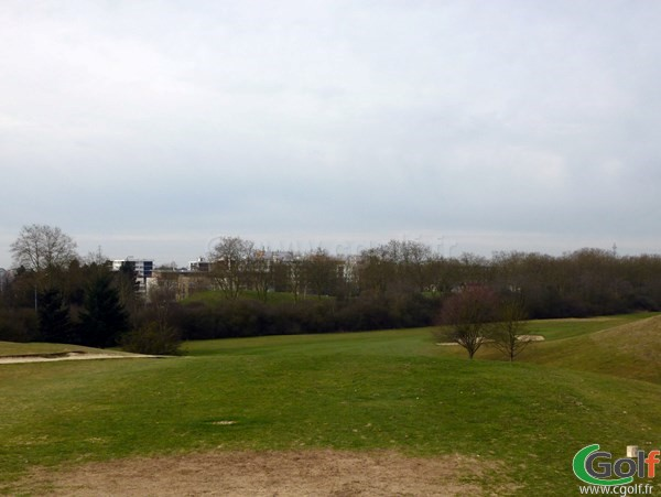 Départ n°1 du golf de la base loisirs de Saint Quentin en Yvelines à Trappes proche de Paris