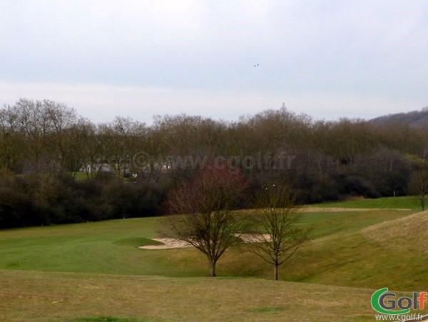 Fairway n°1 du golf de la base loisirs de Saint Quentin en Yvelines proche de Paris à Trappes