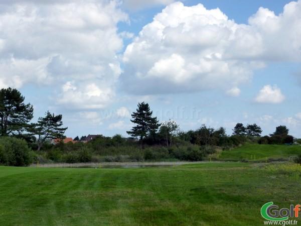 Départ n°11 du golf de Belle Dune en Picardie dans la Somme à Fort-Mahon-Plage