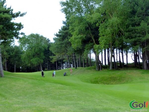 Green n°11 du golf de Belle Dune dans la Somme à Fort-Mahon-Plage en Picardie