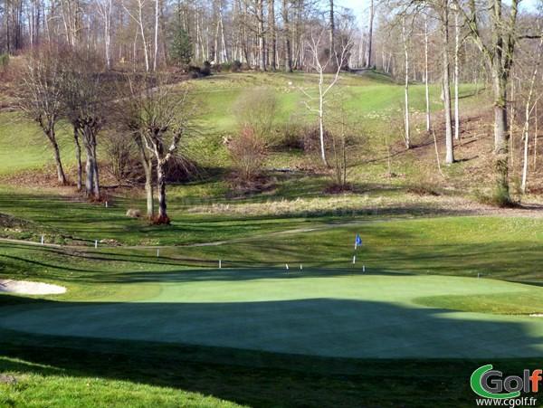 Green n°18 du golf de Bethemont proche de Paris dans les Yvelines à Poissy