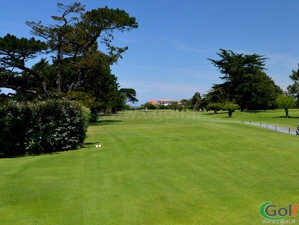 Depart n°1 du golf de Biarritz Le Phare dans les Pyrenées-Atlantiques en Aquitaine