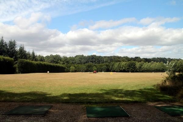 Practice du golf du Champ de Bataille Le Neubourg en Normandie dans l'Eure
