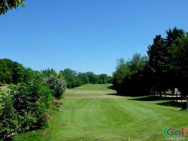 trou n°19 du golf des Chanalets à Bourg-lès-Valence en Rhône Alpes dans la Drôme