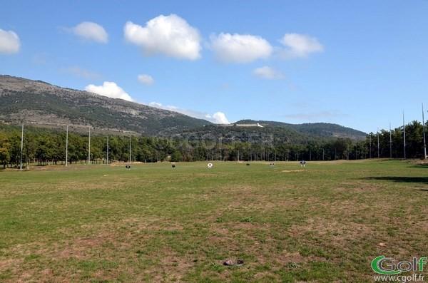 Le practice du golf du Claux Amic dans les Alpes Maritimes à Grasse