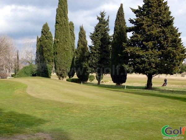 Le putting green du golf d'Aix Les Milles Marseille dans les Bouches du Rhone