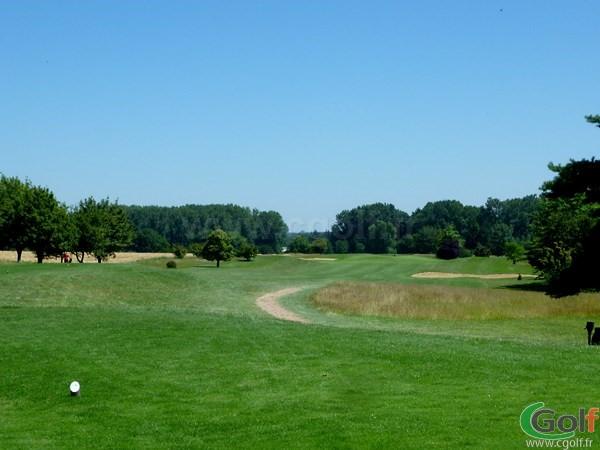 Fairway du Beaujolais golf club à Lucenay proche de Lyon en Rhône-Alpes
