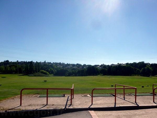 Practice du golf de Saint-Etienne proche de Lyon en Rhône-Alpes département de la Loire