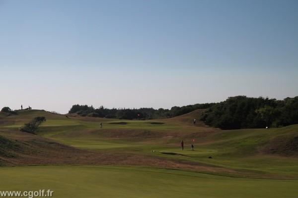 golf compact de Saint-Jean-de-Monts en Vendée pays de Loire sur la côte Atlantique