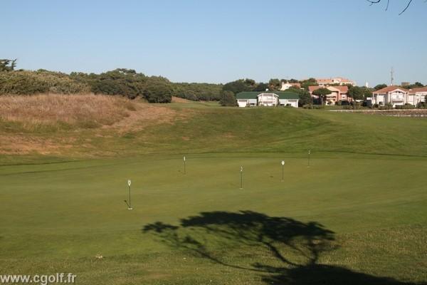 putting green du golf de Saint-Jean-de-Monts en Vendée Pays de Loire côte Atlantique