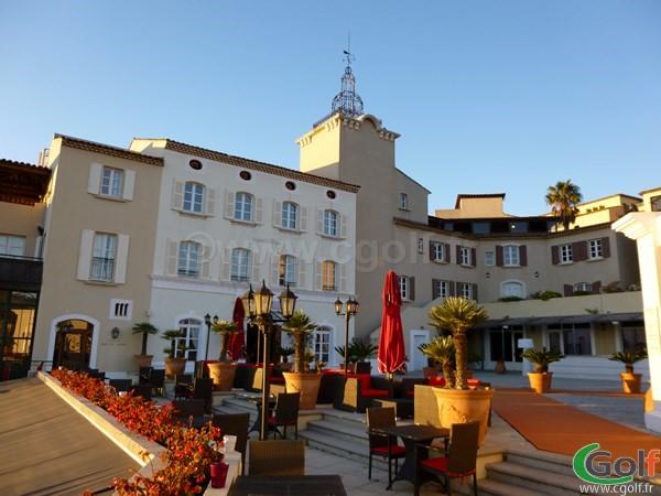 L'hotel du Dolce Frégate golf club dans le Var en Provence à Saint Cyr sur Mer