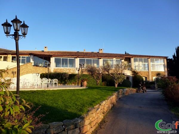 Le restaurant du Dolce Frégate golf Club à Saint Cyr sur Mer dans le Var en Provence