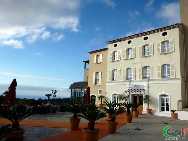 L'hotel vue mer du Dolce Frégate golf club en Provence dans le Var à Saint Cyr sur Mer