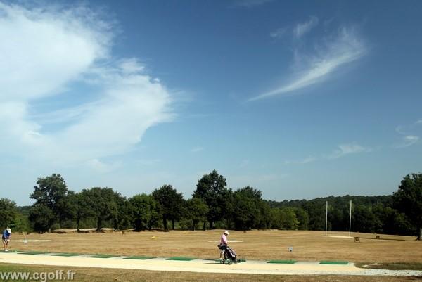 Practice du golf la Domangère eVendée à Nesmy proche de la Roche-sur-Yon