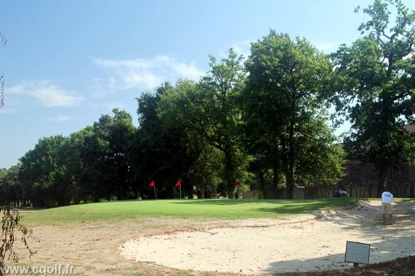 Pitchning green du golf la Domangère en Vendée à Nesmy Pays de Loire