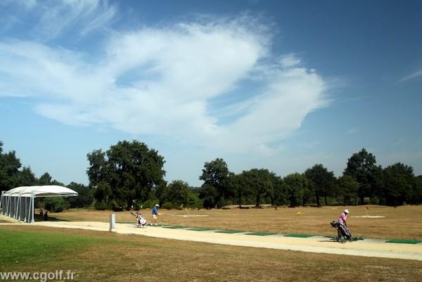 Practice du golf la Domangère en Vendée Pays de Loire à Nesmy