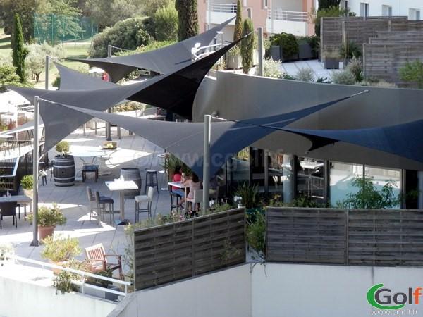 le club house hotel du golf de Fontcaude à Juvignac proche de Montpellier dans l'Heéault