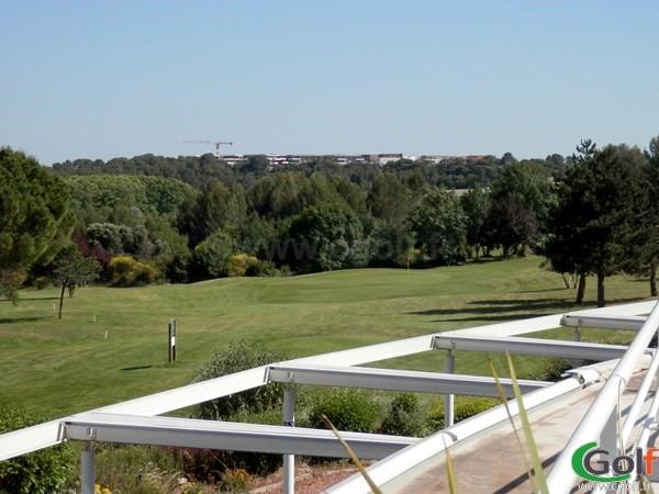 Par 3 du golf de Fontcaude proche de Montpellier dans l'Herault à Juvignac