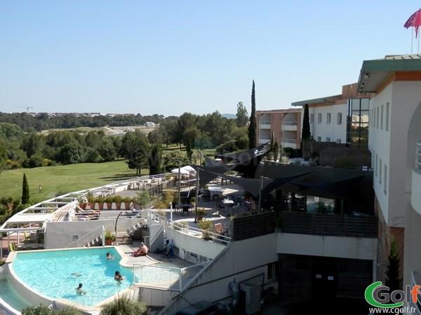 L'hotel du golf de Fontcaude à Juvignac proche de Montpellier dans le Languedoc Roussillon
