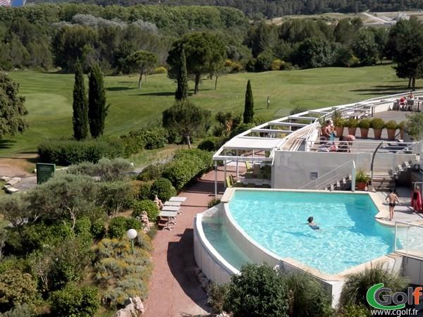 L'hotel du golf de Fontcaude à proximité de Montpellier dans l'Héraut à Juvignac
