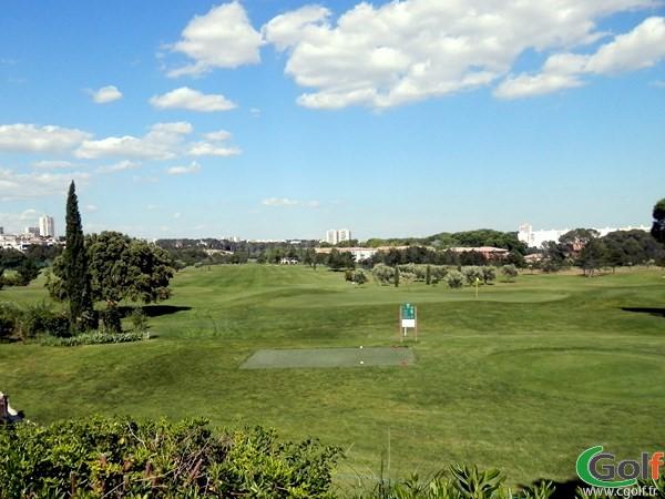 le départ n°1 du golf de fontcaude proche de Montpellier dans le Languedoc Roussillon