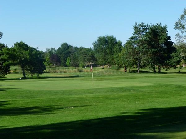 Green n°3 du golf du Forez à Craintilleux en Loire dans la région Rhône-Alpes