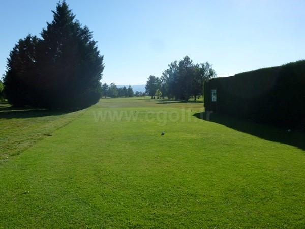 Départ n°7 du golf de Craintilleux - Forez proche de Saint-Etienne en Rhone Alpes dans la Loire