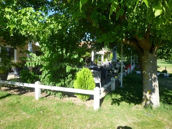 Club house du golf du Forez à Craintilleux proche de Saint-Etienne dans la Loire