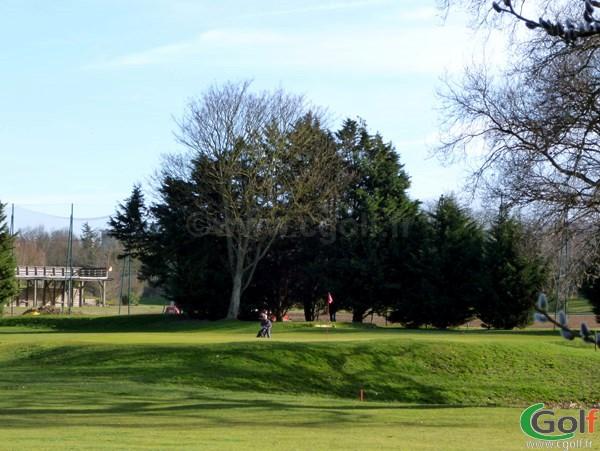 Green du golf du Stade Français Haras Lupin à Vaucresson proche de Paris dans les Hauts de Seine