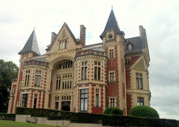 Chateau du golf d'Houlgate en Basse Normandie dans le Calvados proche de Cabourg