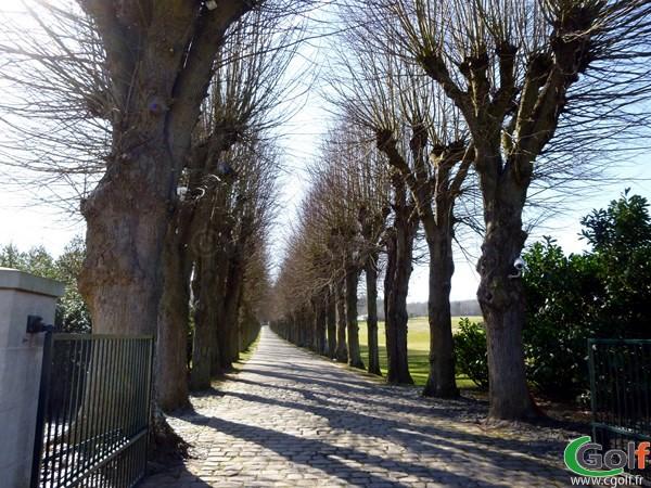 Entrée du golf de Joyenval à Chambourcy dans les Yvelines en Ile de France
