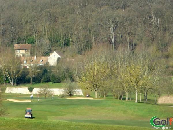 Fairway du golf de Joyenval parcours Retz dans les Yvelines en Ile de France à Chambourcy