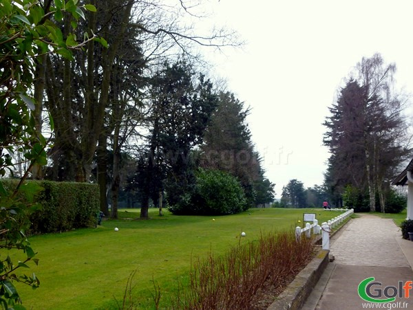 départ n°1 du golf de La Boulie parcours la vallée à Versailles dans les Yvelines proche de Paris