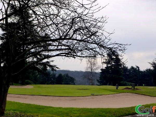 le deuxième putting green du golf de La Boulie Racing Club de France à Versailles