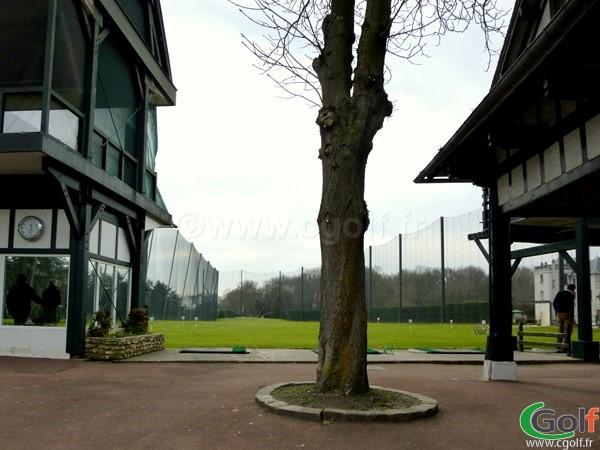 Le practice du golf de La Boulie Racing Club de France proche de Paris à Versailles