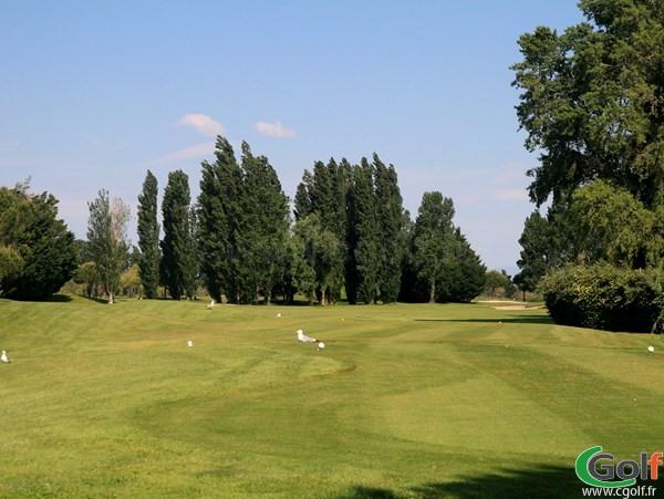 Départ n°10 du golf de La Grande Motte proche de Montpellier dans l'Hérault